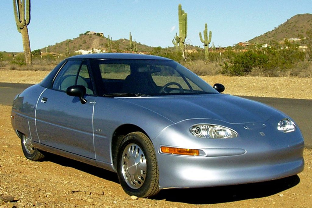 General Motors EV1, from Wikimedia Commons